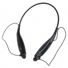 TF-700+ Neck-Strap Stereo Bluetooth V2.1 + EDR Headset w/ Vibrating Call Alert + TF Slot - Black
