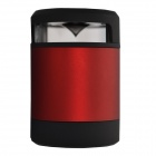 Haptime MKBS-N10 Hands-Waving Recognition Bluetooth V3.0 Speaker w/ Microphone / TF - Red + Black