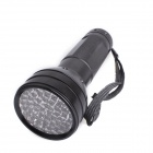 UV Light 400nm 51-LED 1-Mode Flashlight - Black (3 x AA)