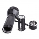 UV Light 400nm 51-LED 1-Mode Flashlight - Black (3*AA)