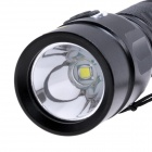 SLT-513 rechargeable 650lm 5-Mode White Light lampe de poche w / XM-L Cree U2-noir (1 x 18650)
