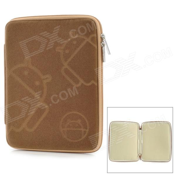 MOFi 1105A 7 Protective Android Pattern Sleeve Cover Case for MID + MP4 + GPS + Tablet PC - Brown сенсорная панель other 7 4 161x97mm gps mp4 tablet pc 7 inch 4 wire resistive touch screen