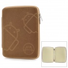 "MOFi 1105A  7"" Protective Android Pattern Sleeve Cover Case for MID + MP4 + GPS + Tablet PC - Brown"