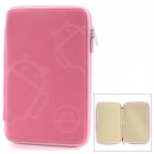 "MOFi 1105A  8"" Protective Android Pattern Sleeve Cover Case for MID + MP4 + GPS + Tablet PC - Pink"