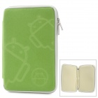 "MOFi 1105A 7"" Protective Android Pattern Sleeve Cover Case for MID + MP4 + GPS + Tablet PC - Green"