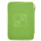 "MOFi 1105A Android Robot Pattern Zippered Protective Bag for 10"" Tablet PC - Green"