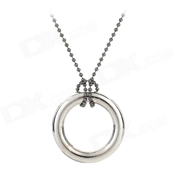 Magic Seamless Stainless Steel Necklace - Silver