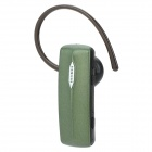 ROMAN R520 Bluetooth v3.0 Stereo Headset w/ Microphone - Dark Sea Green + Black