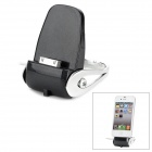 Charging Dock Station for iPhone 4 / 4S - Black + Silver