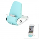 Charging Dock Station for iPhone 4 / 4S - Light Blue + Silvery White