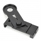 ZW Universal 18mm 12X 14X 20X Telescope Attachment Clip for Cell Phone - Black
