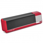 Liweek IF591 Portable 2-Channel Media Player Speaker w/ TF / FM - Red