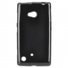 Protective Soft TPU Back Case for Nokia Lumina 720 - Black