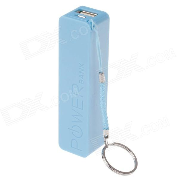 цены A5 Rechargeable 2600mAh Portable Mobile Power Bank - Blue