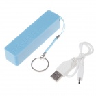 A5 Rechargeable 2600mAh Portable Mobile Power Bank - Blue