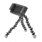 Octopus Style Flexible Joints Mini TrIpod w/ Head for Iphone / Ipod / Samsung Cellphone & Camera