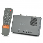 TV072 Digital MPEG-2 TV Tuner / Receiver Box - Dark Grey