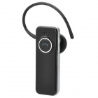 098 Bluetooth v2.0 + EDR Headset w/ Microphone - Black + Silver