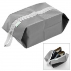 WELLHOUSE Portable Traveling Zippered Shoes Bag - Grey