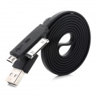 USB 2.0 Male to 30-Pin / Micro USB Male Data Charging Cable for iPhone 4 / 4S, Samsung i9300 (100cm)