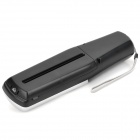 Mini Handheld USB Electric Paper Shredder for Office + More - Black + Silvery Grey (4 x AA)