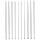 50W RP-SMA 2.4GHz 11dBi 2400~2500Hz Antennas - White + Light Grey (10 PCS)