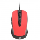 GOLD FISH K7 Wired USB 5D Gaming Optical Mouse - Black + Red