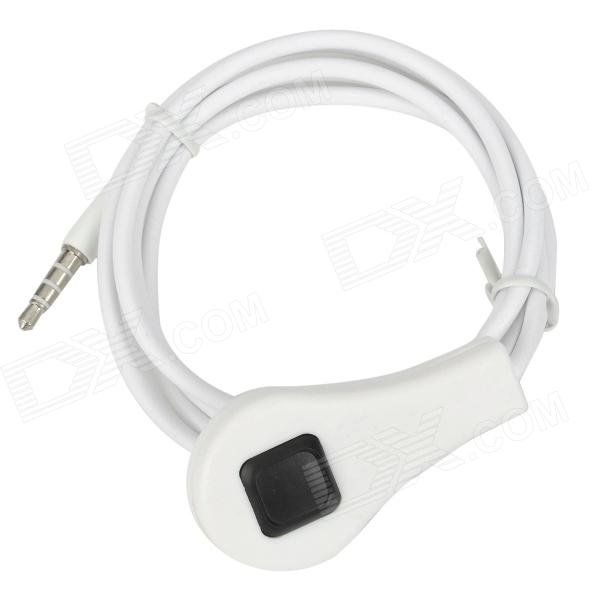 Cellphone Camera Shutter Remote Controller for Iphone / Ipad - White