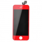 Replacement LCD + Digitizer Touch Screen Module for iPhone 5 - Red