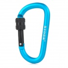 RYDER Anodizing Aluminum Alloy Screw-Lock Carabiner - Blue (8mm)
