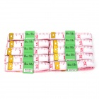 Household Folding Tape Measures - White (1.5m / 10 PCS)