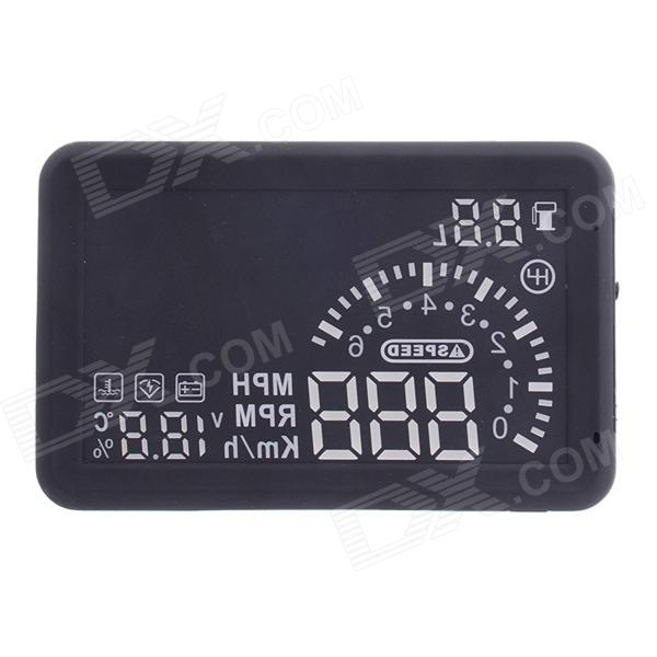 ASH-4 ActiSafety Multi Car OBD2 Fuel Consumption Water Temperature Speed HUD Head Up Display
