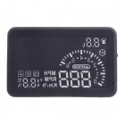 ASH-4 ActiSafety Multi Car OBD2 Kraftstoffverbrauch Wassertemperatur Geschwindigkeit HUD Head Up Display