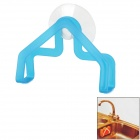 Kitchen Dish Towel / Sponge Hanger w/ Suction Cup - Blue