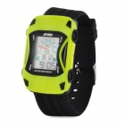 SKMEI 0961B Sporty Car Style Children Silicone Digital Wrist Watch - Yellow + Black (1 x CR2025)