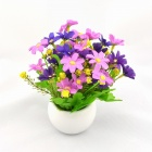 Artificial Primroses Flower for Decoration - Purple