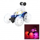 XD 49MHz 4-CH R/C Remote Control Flip Stunt Car Toy with Colorful Light Effects (2 x AA)