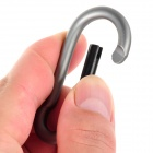 RYDER Calabash Shaped Anodizing Aluminum Alloy Quick Release Carabiner - Grey (2 PCS)