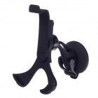 Universal 360 Degree Rotatable Car Suction Cup Holder Stand Bracket for Cellphone - Black