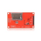 Elecfreaks TFT01-2.2SP 2.2 SPI 240 x 320 TFT LCD Module  for Arduino - Red + Black