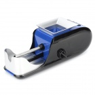 JL-031 Cigarette Tobacco Filling Injector Rolling Machine - Blue + Black + Silver