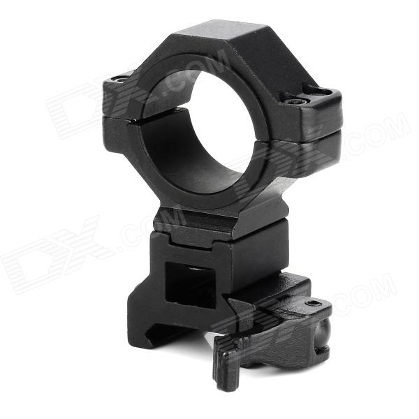 KC002 Multifunction Aluminum Alloy Quick Release Mount Bracket for M16 / M4A1 - Black 10pcs m3 aluminum column 6 10 15 25mm 20mm 28mm 30mm 35mm round aluminum alloy pillar standoff spacer fastener anti slip for rc