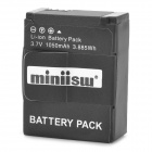 Miniisw AHDBT-301 Replacement 3.7V 1050mAh Li-ion Battery for GoPro Hero 3 - Black