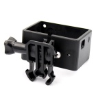Plastic Extension BacPac Frame Mount w/ Fast Assembling Plug for Gopro Hero 4/ 3 - Black