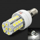 E14 4W 350lm Lexin 34-5050 SMD White Light Corn Lampe (220 ~ 240V)
