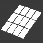 A-AF Professional Reusable Anti-Fog Inserts for Gopro Hero 4/ 3+ / 3 / 2 / 1 / SJ4000 (12 PCS)