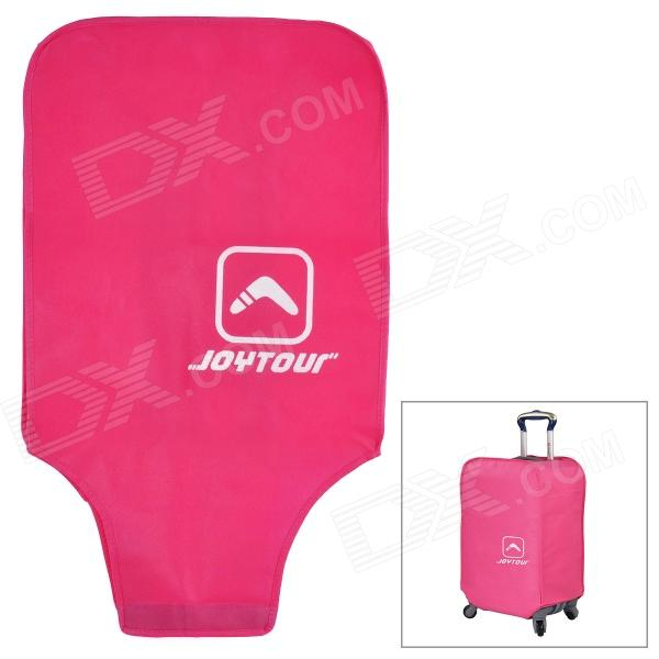 Joytour JT2020 Protective Waterproof Non-woven Fabrics Cover for Luggage Case - Deep Pink iron shoe cover ironing aid board protect ptfe fabrics cloth heat easy fast