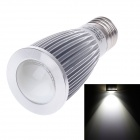 ZIYU ZY-0821-007 E27 7W 630lm 6000K COB LED White Light Lamp Bulb - Silver + White (85~265V)
