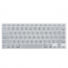 "Protective Silicone Keyboard Cover for MacBook Air 13.3"" / 13.3"" Retina / 15.4"" Retina - Silver Grey"
