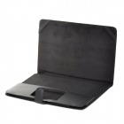 "Protective Anti-Shock PU Leather Case for 11"" MacBook Air - Black"